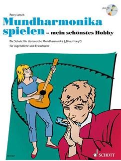 Lerry Petsch: Mundharmonika Spielen Mein Schönstes Hobby Books and CDs   Harmonica