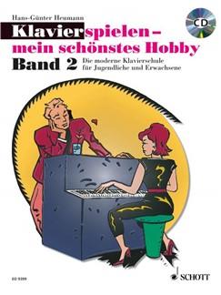 Hans Günter Heumann: Klavierspielen - Mein Schönstes Hobby (Band 2) Books and CDs | Piano
