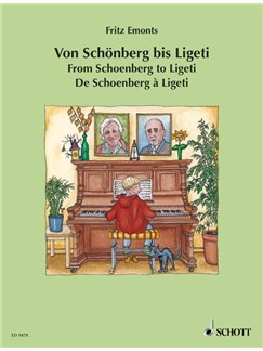 From Schoenberg To Ligeti Arr Emonts Books | Piano