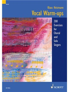 Klaus Heizmann: Vocal Warm-ups Books | Voice