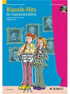 Klassik-Hits Buch und CD | Sopran-Blockflöte (Duett)
