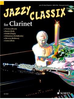 Jazzy Classix For Clarinet Bk/Cd Books | Clarinet