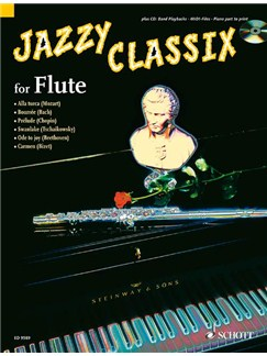 Jazzy Classix For Flute Books and CDs | Flute
