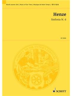 Hans Werner Henze: Sinfonia No.6 Books | Orchestra