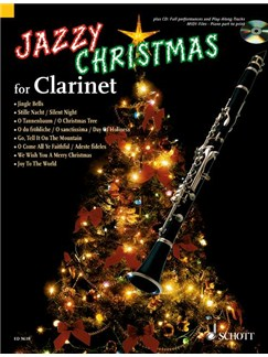 Jazzy Christmas For Clarinet Books and CDs | Clarinet, Piano Accompaniment