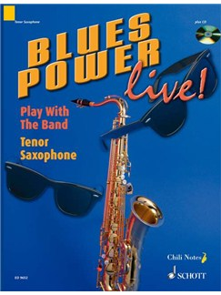 Blues Power Live Tenor Sax Bk/Cd Books | Tenor Saxophone