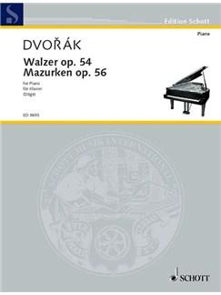 Waltzes Op 54 Mazurkas Op 56 Books | Piano