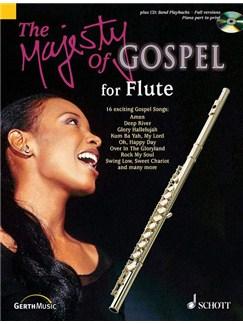 Majesty Of Gospel Flute Bk/Cd Books | Flute