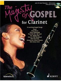 Majesty Of Gospel Clarinet Bk/Cd Books | Clarinet