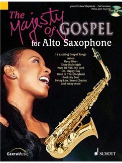 Majesty Of Gospel Alto Sax Bk/Cd Books | Alto Saxophone