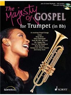 Majesty Of Gospel Trumpet In B Flat Bk/Cd Books | Trumpet