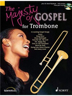 Majesty Of Gospel Trombone Bk/Cd Books | Trombone