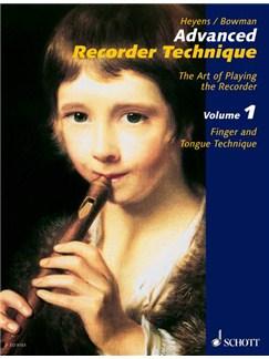 Advanced Recorder Techniques Volume 1 Books | Alto (Treble) Recorder