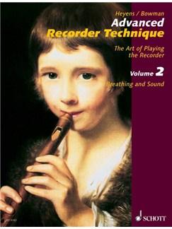 Advanced Recorder Techniques Volume 2 Books   Alto (Treble) Recorder