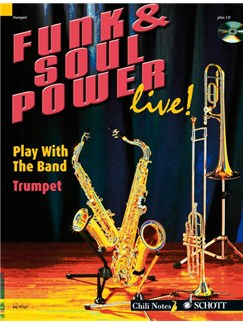 Funk And Soul Power Live! (Trumpet) Books and CDs | Trumpet