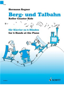 Hermann Regner: Roller Coaster Ride Books | Piano Six Hands