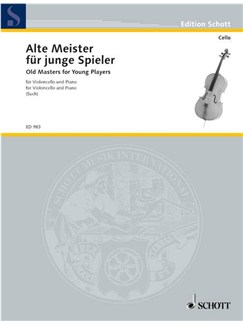 Old Masters For Young Players (Cello) Books | Cello, Piano Accompaniment