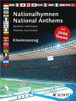 National Anthems (Voice/Piano) Books | Piano, Vocal & Guitar