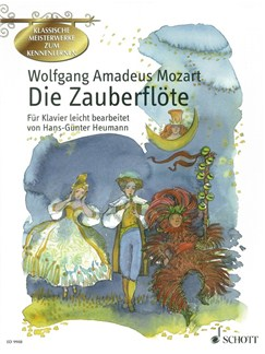 Wolfgang Amadeus Mozart: Die Zauberflöte Books | Piano