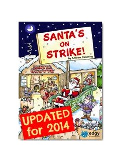 Andrew Oxspring: Santa's On Strike - Key Stage 2 (Book/CD) Books and CDs | Piano, Vocal & Guitar