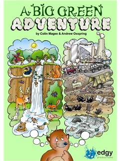 Colin Magee/Andrew Oxspring: A Big Green Adventure Books and CDs   Piano, Vocal & Guitar