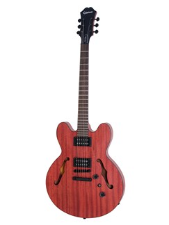 Epiphone: Dot Studio (Worn Cherry) Instruments | Semi-Acoustic Guitar