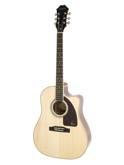 Epiphone: AJ-220SCE (Natural) Instruments | Electro-Acoustic Guitar