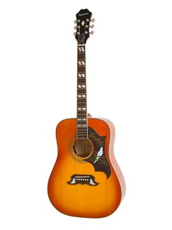 Epiphone: Dove Pro Electro-Acoustic Guitar (Violin Burst) Instruments | Electro-Acoustic Guitar