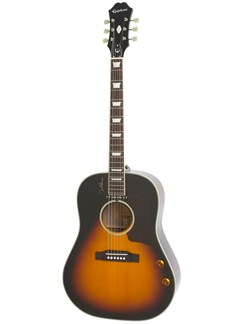 Epiphone: John Lennon EJ-160E (Vintage Cherry) Instruments   Acoustic Guitar