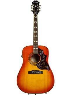 Epiphone: Hummingbird Pro Electro-Acoustic Guitar (Faded Cherry Burst) Instruments | Electro-Acoustic Guitar