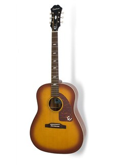 Epiphone: Inspired By The 1964 Texan - Acoustic/Electric Guitar (Vintage Cherry) Instruments | Electro-Acoustic Guitar