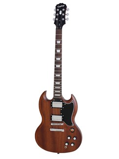 Epiphone: G-400 SG Vintage Faded (Worn Brown/Chrome Hardware) Instruments | Electric Guitar