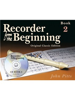 Recorder From The Beginning - Book 2 (Book/CD) - Classic Edition Books and CDs | Soprano (Descant) Recorder
