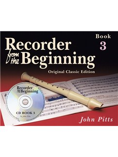 Recorder From The Beginning: Pupil's Book 3 (CD Edition) - Classic Edition Books and CDs | Soprano (Descant) Recorder
