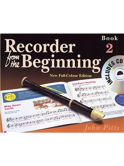 Recorder From The Beginning : Pupil's Book/CD 2 (2004 Edition) Books and CDs | Soprano (Descant) Recorder