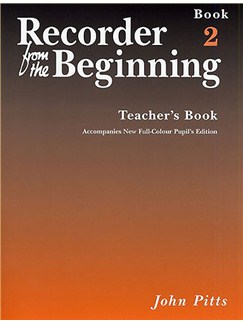 Recorder From The Beginning : Teacher's Book 2 (2004 Edition) Books | Soprano (Descant) Recorder