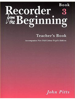 Recorder From The Beginning : Teacher's Book 3 (2004 Edition) Books | Soprano (Descant) Recorder