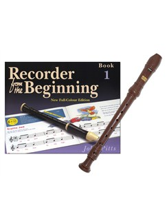Recorder From The Beginning - Pupil's Book 1 (Book/Instrument) Books and Instruments | Soprano (Descant) Recorder, Recorder