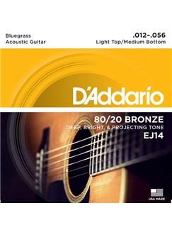 D'Addario: EJ14 80/20 Bronze Bluegrass Guitar String Set  | Guitar