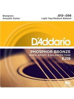 D'Addario: EJ19 Phosphor Bronze, Bluegrass, 12-56  | Guitar