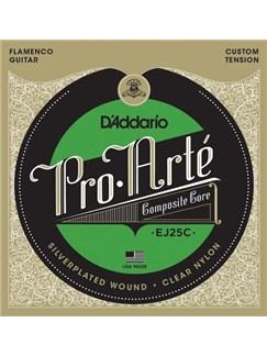 D'Addario: EJ25C Pro-Arté Clear Nylon Composite, Flamenco  | Guitar