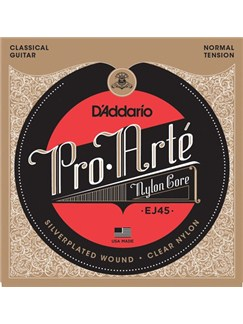 D'Addario: EJ45 Pro-Arte Nylon Normal Tension - 3 Pack  | Classical Guitar