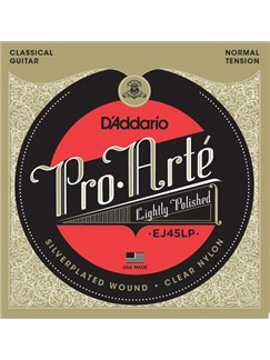 D'Addario: EJ45LP Pro-Arte Composite Classical Guitar Strings, Normal Tension  | Classical Guitar