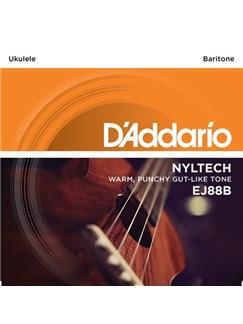 D'Addario: EJ88B Nyltech Ukulele, Baritone  | Ukulele