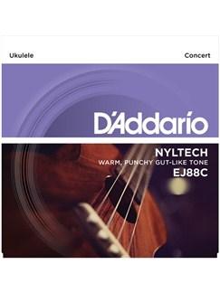 D'Addario: EJ88C Nyltech Concert Ukulele Strings Set  | Ukulele