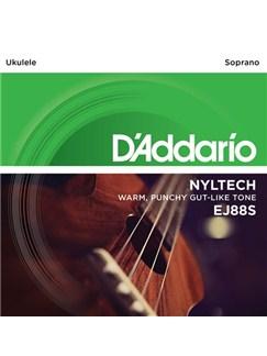 D'Addario: EJ88S Soprano Nyltech Ukulele Strings  | Ukulele