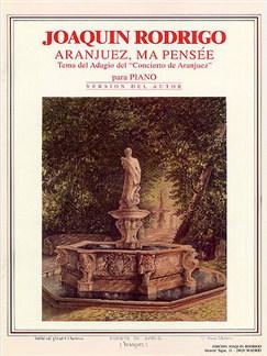 Joaquin Rodrigo: Aranjuez, Ma Pensee Books | Piano