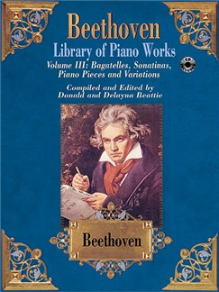 Beethoven Library Of Piano Works Volume 3 Books and CDs | Piano