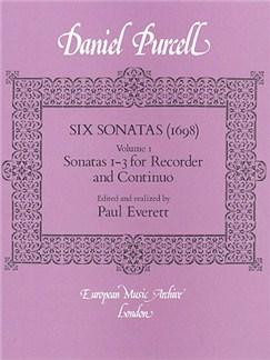Daniel Purcell: Six Sonatas - Volume 1 Books | Recorder