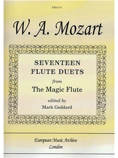 W.A. Mozart: Seventeen Flute Duets From The Magic Flute Books | Flute (Duet)